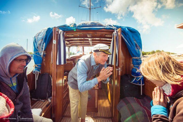 Kelionė laivu Nidoje