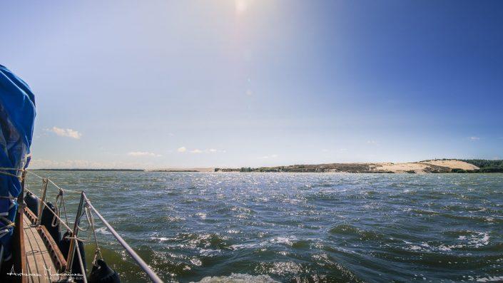 Plaukimas laivu Nidoje