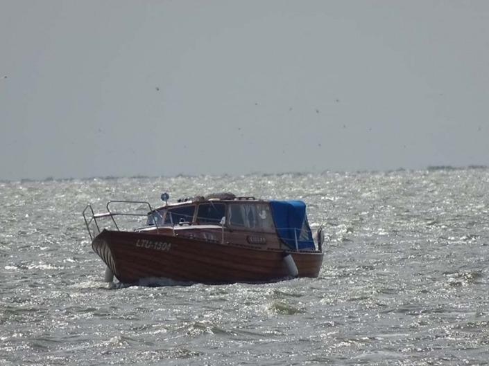 laivas lillan, plaukimas laivu Nidoje