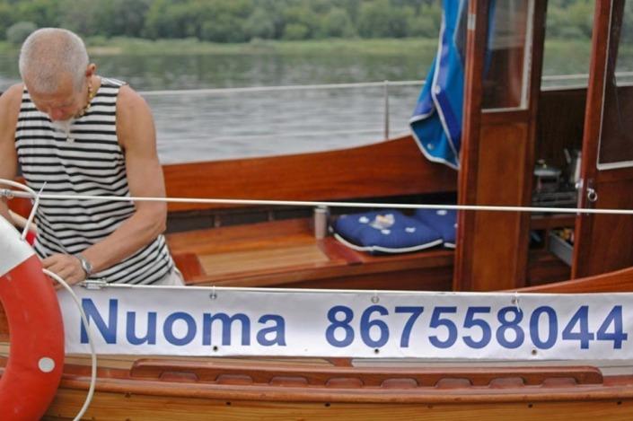 Plaukimas laivu Kaunas - Zapyskis