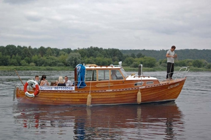 Kaunas - Zapyskis laivo nuoma