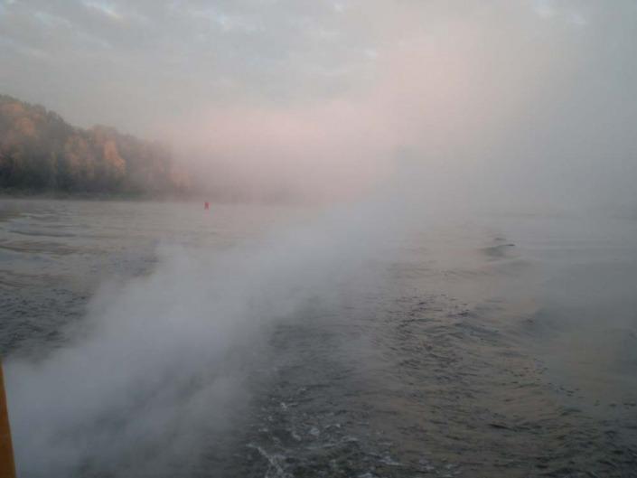 Plaukimas laivu Nemune
