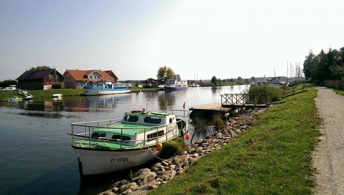 Plaukimas laivu Minijos upe