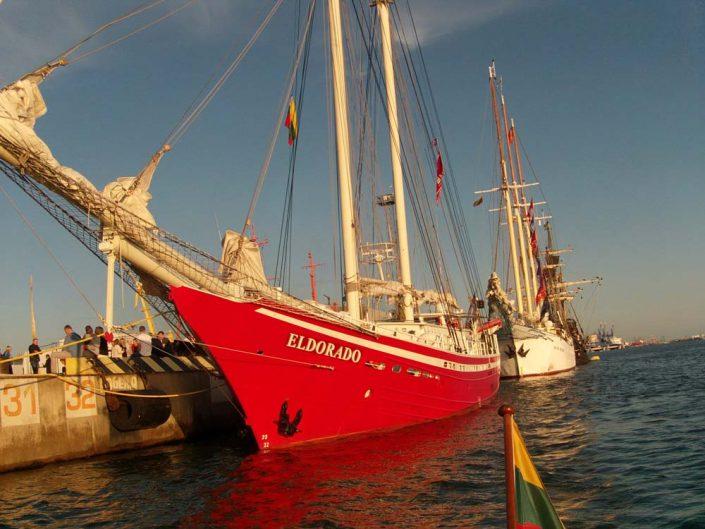 Laivai jūros šventėje
