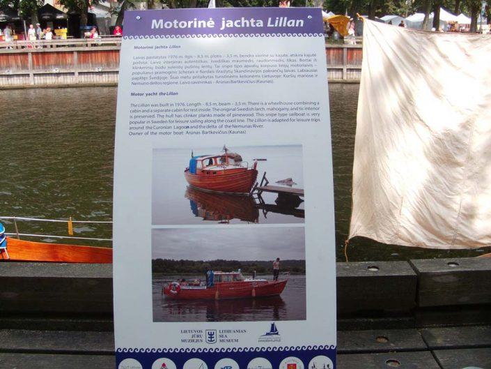 Motorinė jachta Lillan