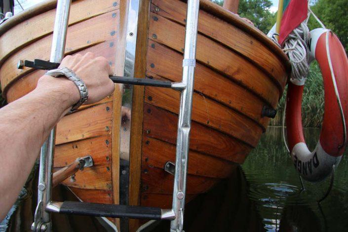 Jūros šventė plaukiant laivu