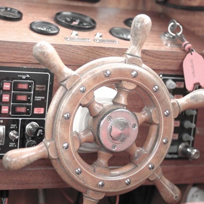 motorinio laivo nuoma Nidoje