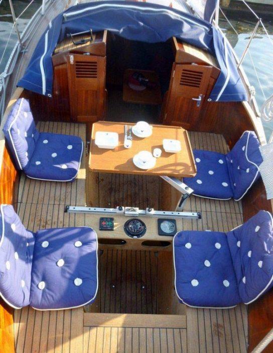 jachtos nuoma Nidoje su nakvyne jachtoje